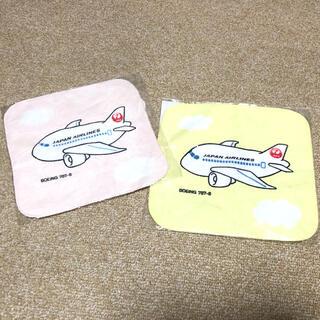 ジャル(ニホンコウクウ)(JAL(日本航空))のJALハンカチ2枚セット(ハンカチ)