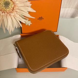 Hermes - エルメス 未使用 シルクイン  コンパクト 財布 長財布