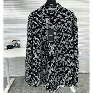 FENDI - FENDIフェンディフルプリント長袖シャツシャツ