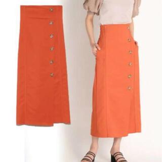 Lily Brown - orange タイトスカート♡