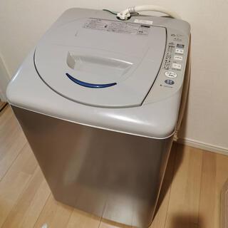 サンヨー(SANYO)のSANYO 全自動電気洗濯機 ASW-EG42B 4.2kg 2010年製(洗濯機)