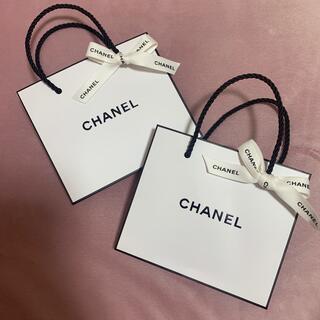 CHANEL - chanel ショッパーx2 リボン付き
