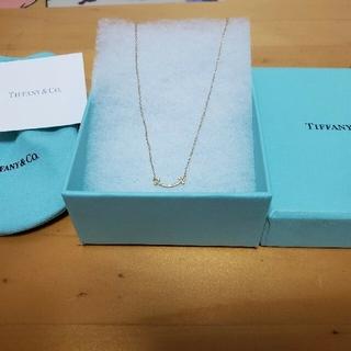 Tiffany & Co. - スマイルミニペンダント ゴールド