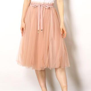 パターンフィオナ(PATTERN fiona)のパターンフィオナ チュールスカート(ひざ丈スカート)