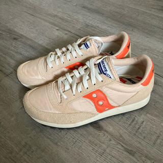サッカニー(SAUCONY)のSaucony Jazz Vintage tan/orange 7h 25.5(スニーカー)