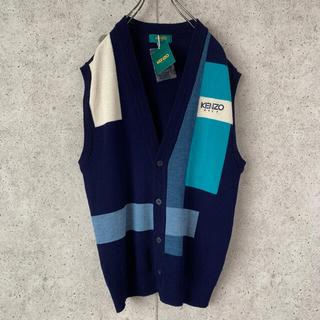 KENZO - 【超激レア‼︎】ベスト 古着 希少デザイン 大人気カラー KENZO