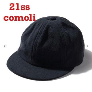 COMOLI - コモリ シルクネップ キャップ