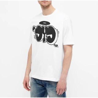 ジュンヤワタナベコムデギャルソン(JUNYA WATANABE COMME des GARCONS)のeYe JUNYA WATANABE MAN 1UP graphic Tee L(Tシャツ/カットソー(半袖/袖なし))