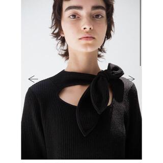 トーガ(TOGA)のsoduk ribbon knit top(ニット/セーター)