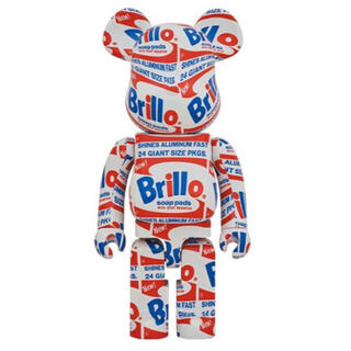 "メディコムトイ(MEDICOM TOY)のBE@RBRICK ANDY WARHOL ""Brillo"" 1000%(その他)"