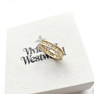 Vivienne Westwood - ヴィヴィアンウエストウッド VWW 指輪 リング サイズM ゴールド