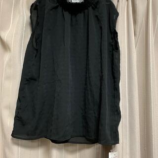 クリア(clear)の新品タグ付きclear袖なし(シャツ/ブラウス(半袖/袖なし))