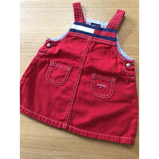 TOMMY HILFIGER - トミーヒルフィガー☆サイズ3-6ヶ月☆ワンピース ジャンパースカート