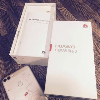 ファーウェイ(HUAWEI)のHUAWEI nova lite 2 simフリー 32GB(スマートフォン本体)
