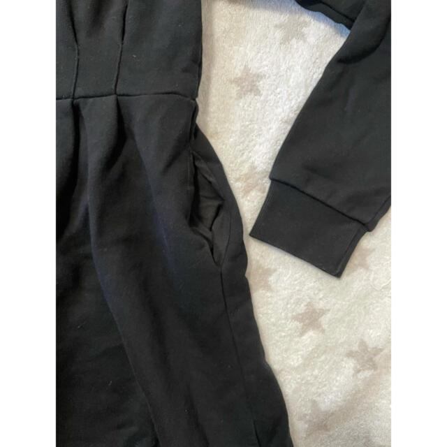 EMODA(エモダ)のEMODA スウェットワンピース ブラック レディースのワンピース(ひざ丈ワンピース)の商品写真