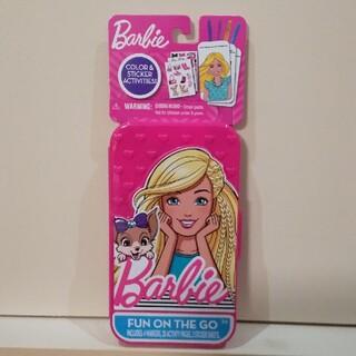 バービー(Barbie)のバービー 色塗り&シールセット(キャラクターグッズ)