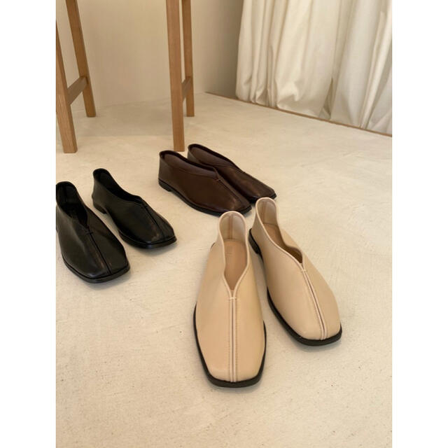 TODAYFUL(トゥデイフル)のlawgy leather stitch shoes レディースの靴/シューズ(ローファー/革靴)の商品写真