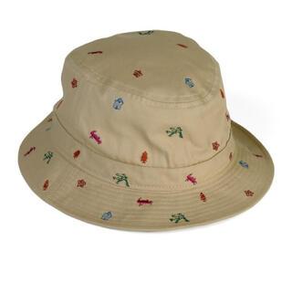 Paul Smith - ポールスミス 'Base Camp'エンブロイダリー バケットハット 帽子