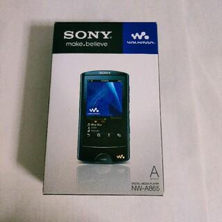 ウォークマン(WALKMAN)のSONY ウォークマン Aシリーズ NW-A865(W)(ポータブルプレーヤー)