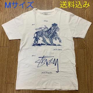 ネクサスセブン(NEXUSVII)のSTUSSY x NEXUS7 コラボ プリントTシャツ / Mサイズ(Tシャツ/カットソー(半袖/袖なし))
