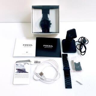 FOSSIL - おまけ付き FOSSIL FTW4025 スマートウォッチ ブラック フォッシル