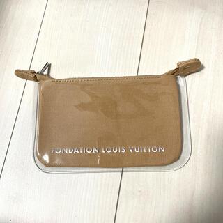 LOUIS VUITTON - 【新品未使用】ルイヴィトン 美術館 ポーチ キャラメル 付属品なし特価