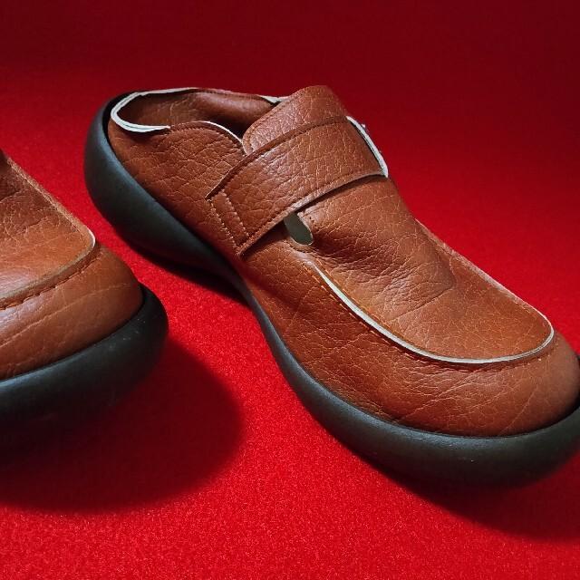 Regetta Canoe(リゲッタカヌー)のリゲッタカヌー 手作り 靴 キャラメルブラウン Mサイズ メンズの靴/シューズ(スリッポン/モカシン)の商品写真