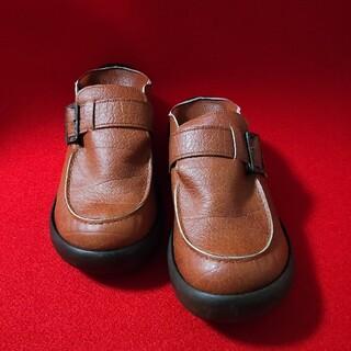 リゲッタカヌー(Regetta Canoe)のリゲッタカヌー 手作り 靴 キャラメルブラウン Mサイズ(スリッポン/モカシン)
