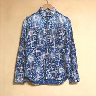 ブルーブルー(BLUE BLUE)のBLUE BLUE / ブルーブルー 総柄シャツ 日本製(シャツ)