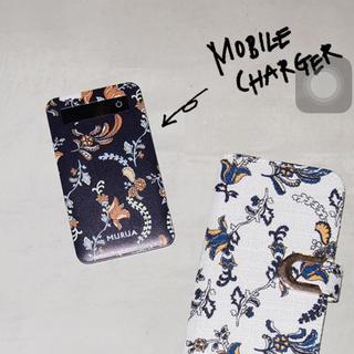 ムルーア(MURUA)のMURUA♡モバイルチャージャー(バッテリー/充電器)