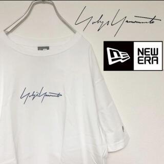 Yohji Yamamoto - ヨウジヤマモト ニューエラ 刺繍ロゴTシャツ コラボ 限定 レア Y-3 Ys