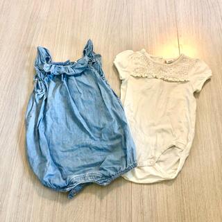 H&M - H&M とBaby GAPの女の子服まとめ売り セット 70-80