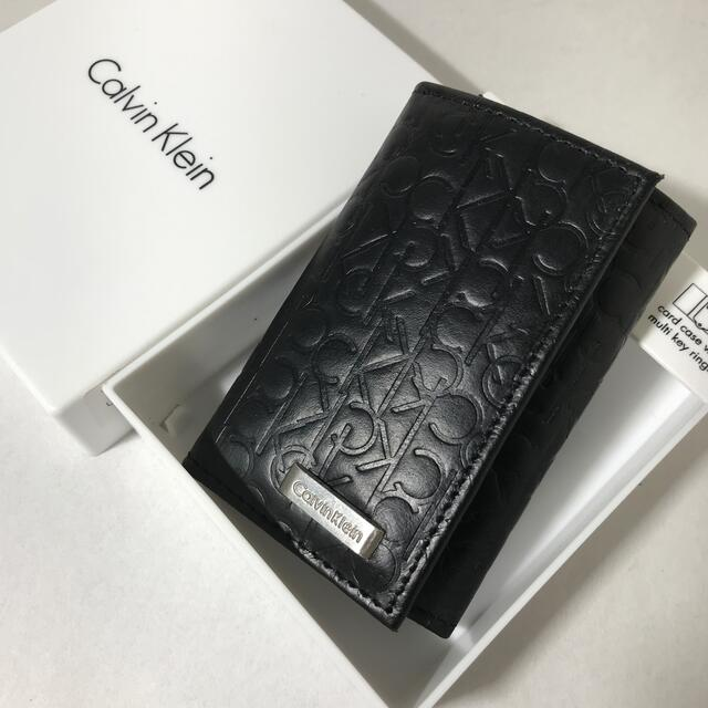 Calvin Klein(カルバンクライン)の直営店購入 新品カルバンクライン 高級牛革11000円 6連キーケース メンズのファッション小物(キーケース)の商品写真