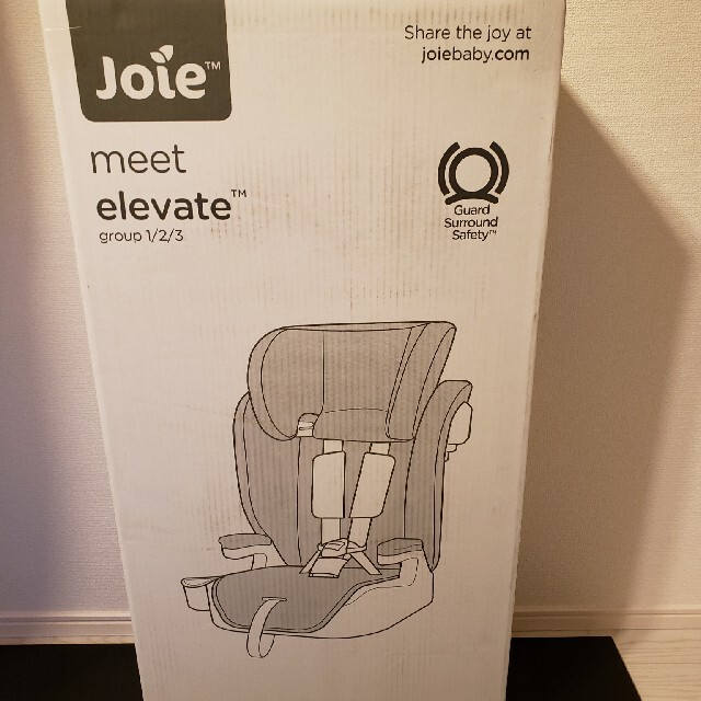 値下げしました【新品未使用】チャイルドシート Joie エレベート キッズ/ベビー/マタニティの外出/移動用品(自動車用チャイルドシート本体)の商品写真