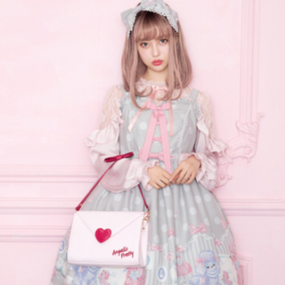 Angelic Pretty - 【15日まで】lovely poodle jsk+kc