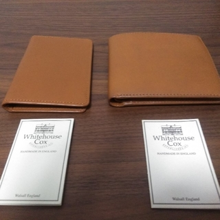 WHITEHOUSE COX - Whitehouse CoxBRIDLE LEATHER 財布 カードケース