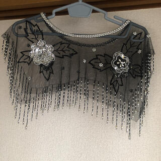 チャコット(CHACOTT)の社交ダンス ダンス 衣装 レース 黒 ラテン ストール ショール チャコット(ダンス/バレエ)