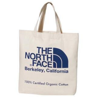 THE NORTH FACE - 21年モデル 新品 未使用 ノースフェイス オーガニックコットン トート  青