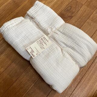 MUJI (無印良品) - 無印 綿三重ガーゼ 掛ふとんカバー 新品未使用