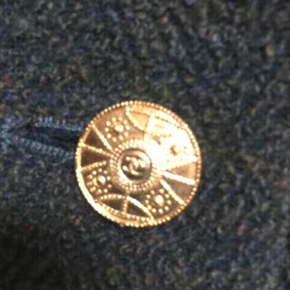 シャネル(CHANEL)のシャネル CHANEL 正規品 スカート 金ボタン たっぷり 刻印あり(ロングスカート)