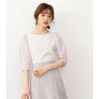 PROPORTION BODY DRESSING - 6分袖シアースリーブTシャツ proportion body dressing