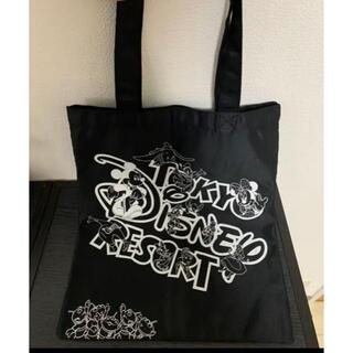 Disney - ディズニーリゾート トートバッグ 黒