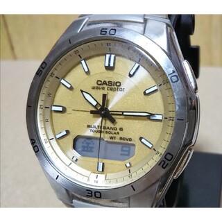 カシオ(CASIO)のCASIO カシオ WVA-M640 電波 ソーラー アナデジ 腕時計 メンズ(腕時計(アナログ))