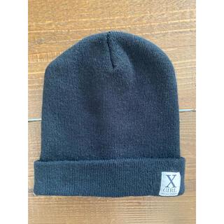 X-girl - ニット帽 黒