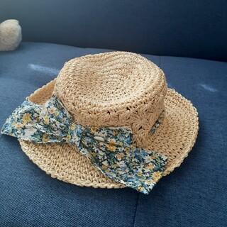 Branshes - branshes ♡ 50㎝ リボン付きハット帽子 ストロー風