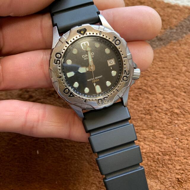 CASIO(カシオ)の大変珍しいです。美品1970年代CASIOダイバー200mエアーダイバー メンズの時計(腕時計(アナログ))の商品写真