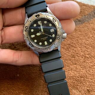 カシオ(CASIO)の大変珍しいです。美品1970年代CASIOダイバー200mエアーダイバー(腕時計(アナログ))