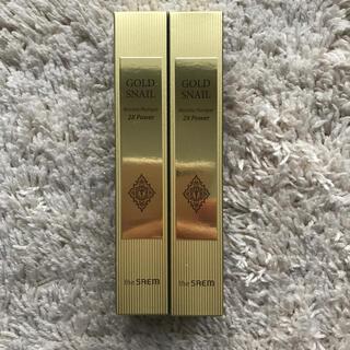 ザセム(the saem)のthe SAEM GOLD SNAIL 2本 新品・未使用品(美容液)