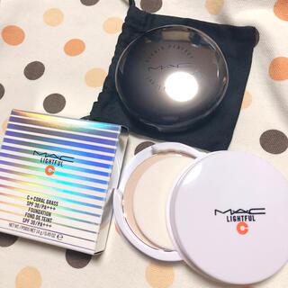 MAC - ★MAC★ライトフルC+SPF30ファンデーション★NC15★ケース付