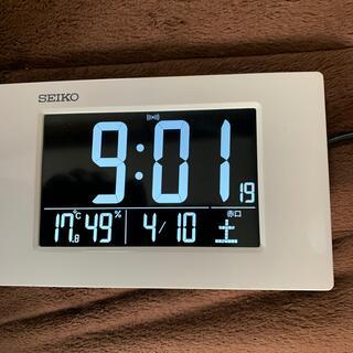 セイコー(SEIKO)のSEIKO DL215W目覚まし時計(置時計)